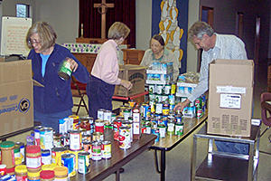 Social Ministry Food Baskets